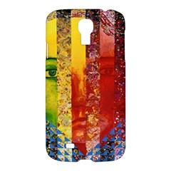 Conundrum I, Abstract Rainbow Woman Goddess  Samsung Galaxy S4 I9500/i9505 Hardshell Case by DianeClancy