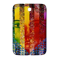 Conundrum I, Abstract Rainbow Woman Goddess  Samsung Galaxy Note 8 0 N5100 Hardshell Case  by DianeClancy