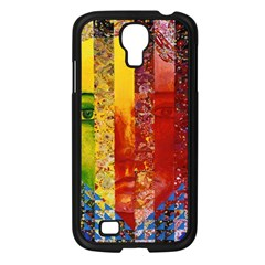 Conundrum I, Abstract Rainbow Woman Goddess  Samsung Galaxy S4 I9500/ I9505 Case (black) by DianeClancy