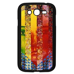 Conundrum I, Abstract Rainbow Woman Goddess  Samsung Galaxy Grand Duos I9082 Case (black)
