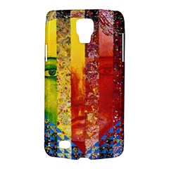 Conundrum I, Abstract Rainbow Woman Goddess  Samsung Galaxy S4 Active (i9295) Hardshell Case by DianeClancy