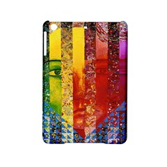 Conundrum I, Abstract Rainbow Woman Goddess  Apple Ipad Mini 2 Hardshell Case by DianeClancy
