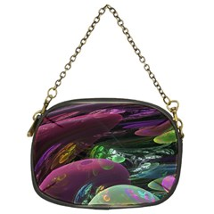 Creation Of The Rainbow Galaxy, Abstract Chain Purse (two Sided)  by DianeClancy