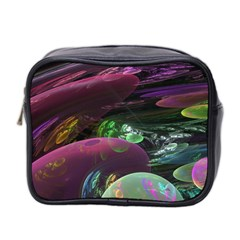 Creation Of The Rainbow Galaxy, Abstract Mini Travel Toiletry Bag (two Sides) by DianeClancy
