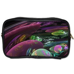 Creation Of The Rainbow Galaxy, Abstract Travel Toiletry Bag (two Sides) by DianeClancy