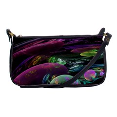 Creation Of The Rainbow Galaxy, Abstract Evening Bag by DianeClancy