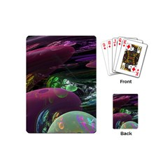 Creation Of The Rainbow Galaxy, Abstract Playing Cards (mini) by DianeClancy