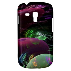 Creation Of The Rainbow Galaxy, Abstract Samsung Galaxy S3 Mini I8190 Hardshell Case by DianeClancy