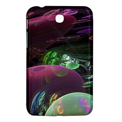Creation Of The Rainbow Galaxy, Abstract Samsung Galaxy Tab 3 (7 ) P3200 Hardshell Case  by DianeClancy