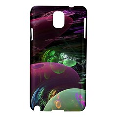 Creation Of The Rainbow Galaxy, Abstract Samsung Galaxy Note 3 N9005 Hardshell Case by DianeClancy