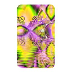 Golden Violet Crystal Heart Of Fire, Abstract Memory Card Reader (rectangular) by DianeClancy