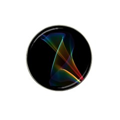 Abstract Rainbow Lily, Colorful Mystical Flower  Golf Ball Marker 10 Pack (for Hat Clip) by DianeClancy