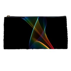 Abstract Rainbow Lily, Colorful Mystical Flower  Pencil Case by DianeClancy