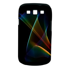 Abstract Rainbow Lily, Colorful Mystical Flower  Samsung Galaxy S Iii Classic Hardshell Case (pc+silicone)