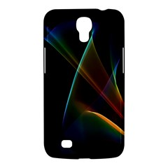 Abstract Rainbow Lily, Colorful Mystical Flower  Samsung Galaxy Mega 6 3  I9200 Hardshell Case by DianeClancy