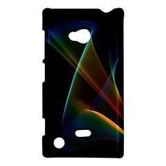 Abstract Rainbow Lily, Colorful Mystical Flower  Nokia Lumia 720 Hardshell Case by DianeClancy
