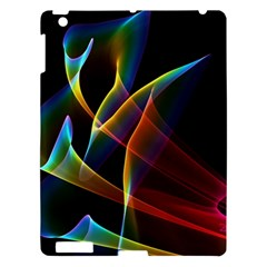Peacock Symphony, Abstract Rainbow Music Apple Ipad 3/4 Hardshell Case by DianeClancy