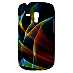 Peacock Symphony, Abstract Rainbow Music Samsung Galaxy S3 Mini I8190 Hardshell Case by DianeClancy