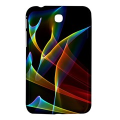 Peacock Symphony, Abstract Rainbow Music Samsung Galaxy Tab 3 (7 ) P3200 Hardshell Case  by DianeClancy