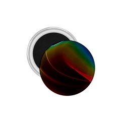 Liquid Rainbow, Abstract Wave Of Cosmic Energy  1 75  Button Magnet by DianeClancy