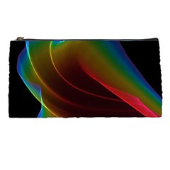Liquid Rainbow, Abstract Wave Of Cosmic Energy  Pencil Case by DianeClancy