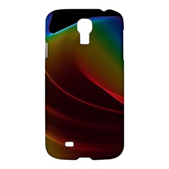 Liquid Rainbow, Abstract Wave Of Cosmic Energy  Samsung Galaxy S4 I9500/i9505 Hardshell Case by DianeClancy