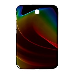 Liquid Rainbow, Abstract Wave Of Cosmic Energy  Samsung Galaxy Note 8 0 N5100 Hardshell Case  by DianeClancy