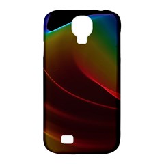 Liquid Rainbow, Abstract Wave Of Cosmic Energy  Samsung Galaxy S4 Classic Hardshell Case (pc+silicone) by DianeClancy