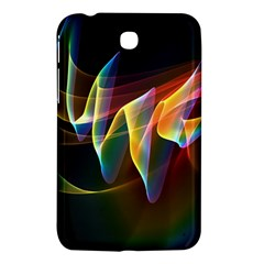 Northern Lights, Abstract Rainbow Aurora Samsung Galaxy Tab 3 (7 ) P3200 Hardshell Case  by DianeClancy