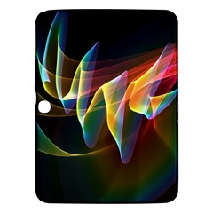 Northern Lights, Abstract Rainbow Aurora Samsung Galaxy Tab 3 (10 1 ) P5200 Hardshell Case  by DianeClancy