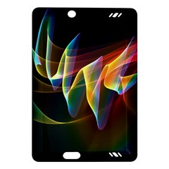Northern Lights, Abstract Rainbow Aurora Kindle Fire Hd 7  (2nd Gen) Hardshell Case by DianeClancy