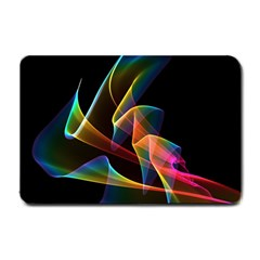 Crystal Rainbow, Abstract Winds Of Love  Small Door Mat by DianeClancy