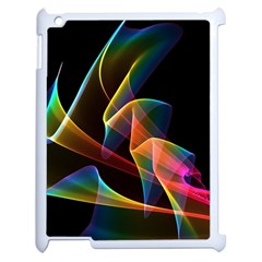 Crystal Rainbow, Abstract Winds Of Love  Apple iPad 2 Case (White)