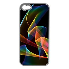 Crystal Rainbow, Abstract Winds Of Love  Apple Iphone 5 Case (silver) by DianeClancy
