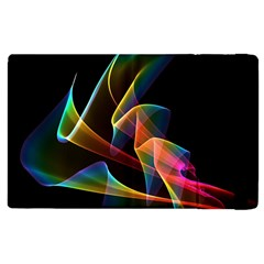 Crystal Rainbow, Abstract Winds Of Love  Apple Ipad 2 Flip Case by DianeClancy