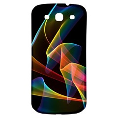 Crystal Rainbow, Abstract Winds Of Love  Samsung Galaxy S3 S Iii Classic Hardshell Back Case by DianeClancy