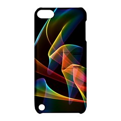 Crystal Rainbow, Abstract Winds Of Love  Apple Ipod Touch 5 Hardshell Case With Stand by DianeClancy