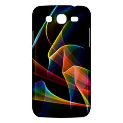 Crystal Rainbow, Abstract Winds Of Love  Samsung Galaxy Mega 5 8 I9152 Hardshell Case  by DianeClancy