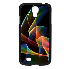Crystal Rainbow, Abstract Winds Of Love  Samsung Galaxy S4 I9500/ I9505 Case (black) by DianeClancy