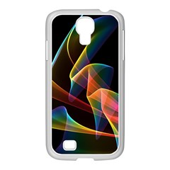 Crystal Rainbow, Abstract Winds Of Love  Samsung Galaxy S4 I9500/ I9505 Case (white) by DianeClancy