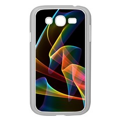 Crystal Rainbow, Abstract Winds Of Love  Samsung Galaxy Grand Duos I9082 Case (white) by DianeClancy