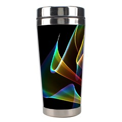 Crystal Rainbow, Abstract Winds Of Love  Stainless Steel Travel Tumbler by DianeClancy