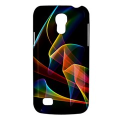 Crystal Rainbow, Abstract Winds Of Love  Samsung Galaxy S4 Mini (gt I9190) Hardshell Case  by DianeClancy