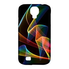 Crystal Rainbow, Abstract Winds Of Love  Samsung Galaxy S4 Classic Hardshell Case (pc+silicone)