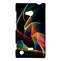 Crystal Rainbow, Abstract Winds Of Love  Nokia Lumia 720 Hardshell Case by DianeClancy