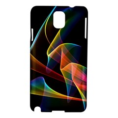 Crystal Rainbow, Abstract Winds Of Love  Samsung Galaxy Note 3 N9005 Hardshell Case by DianeClancy
