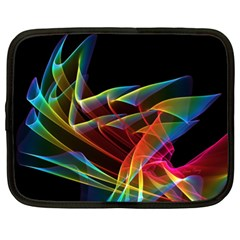 Dancing Northern Lights, Abstract Summer Sky  Netbook Sleeve (xxl) by DianeClancy