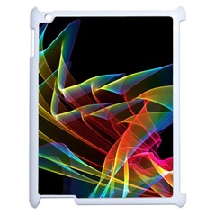 Dancing Northern Lights, Abstract Summer Sky  Apple Ipad 2 Case (white) by DianeClancy