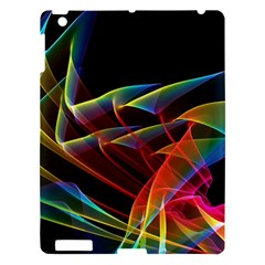 Dancing Northern Lights, Abstract Summer Sky  Apple Ipad 3/4 Hardshell Case by DianeClancy