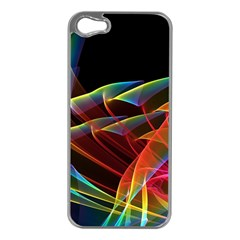 Dancing Northern Lights, Abstract Summer Sky  Apple Iphone 5 Case (silver) by DianeClancy